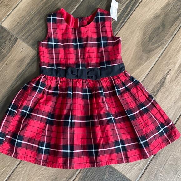 The Children's Place NWT plaid dress 2T